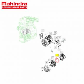 Gasket Water Pump for KUV100