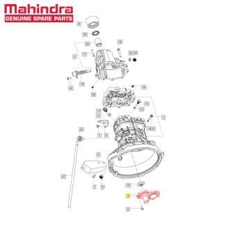 Etainer Housing Front Brg Ltv for Maxximo