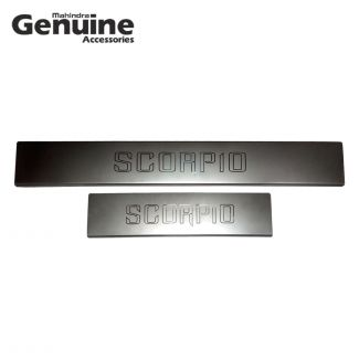 Scorpio D2 Stainless Steel Scuff Plate Set (Pack of 4) for S3 ,S5 ,S7 ,S9 ,S11, S2, S4, S6, S8, S10