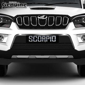 Scorpio Front Lower Grill Chrome Applique for S3 ,S5 ,S7 ,S9 ,S11
