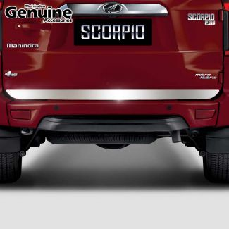 Scorpio Stainless Steel Tailgate Applique for S3 ,S5 ,S7 ,S9 ,S11