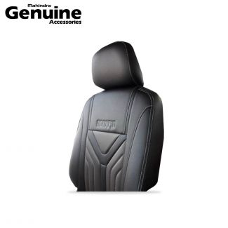 Scorpio Seat Cover set with Carbon Fibre Inserts for 7 Seater Captain Seats with Armrest for S11