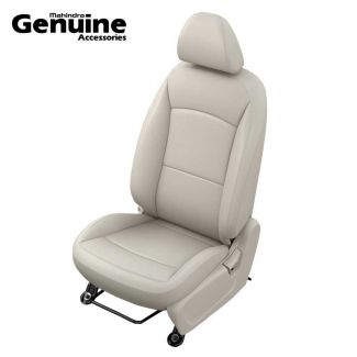 XUV300 OE Design Vinyl Seat Cover Set (W6 & W4 - 2nd Row 60:40 seats & Removable Head Rest )