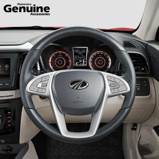 XUV300 OE Design Napa Leather Steering Cover for W6 & W4