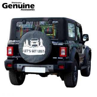Mahindra Thar 2020 BS6 Spare Wheel Cover - LetS Get Lost - LX