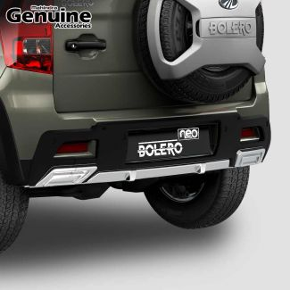 Bolero Neo Rear Bumper Addon With Spacer Step Extension for N4, N8, N10