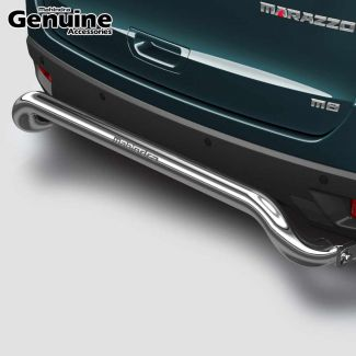 Mahindra Marazzo Stainless Steel Rear Guard with fitment brackets