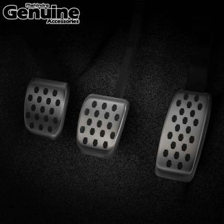 XUV700 Hex Pattern Pedal Covers (Set of 3 Pcs) for Manual Transmission - All Variants