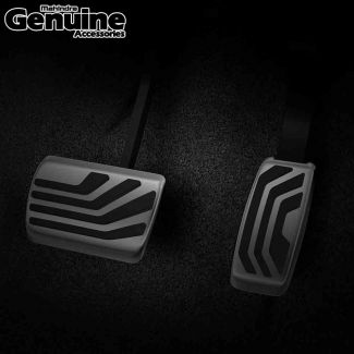 XUV700 Stripes Design Pedal Covers (Set of 2 Pcs) for Automatic Transmission - All Variants
