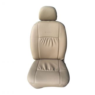 Bolero PU Beige with Gathering Seat Cover (7 Seater)