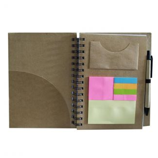 Mahindra Rise Eco-Friendly Notepad with Paper Pen