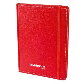 Mahindra Rise Eco - preen A5 Notebook (Red)