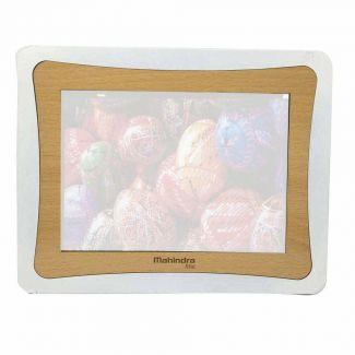 Mahindra Rise 5 x 7 Inch Photo Frame in Silver