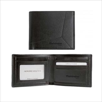 Mahindra Rise Leatherite Gents Wallet