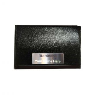 Mahindra Rise Personalized Magnetic Card Holder
