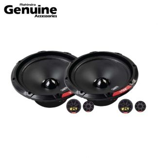 Vibe Component Speaker Set - 6 Inch with Wiring Kit